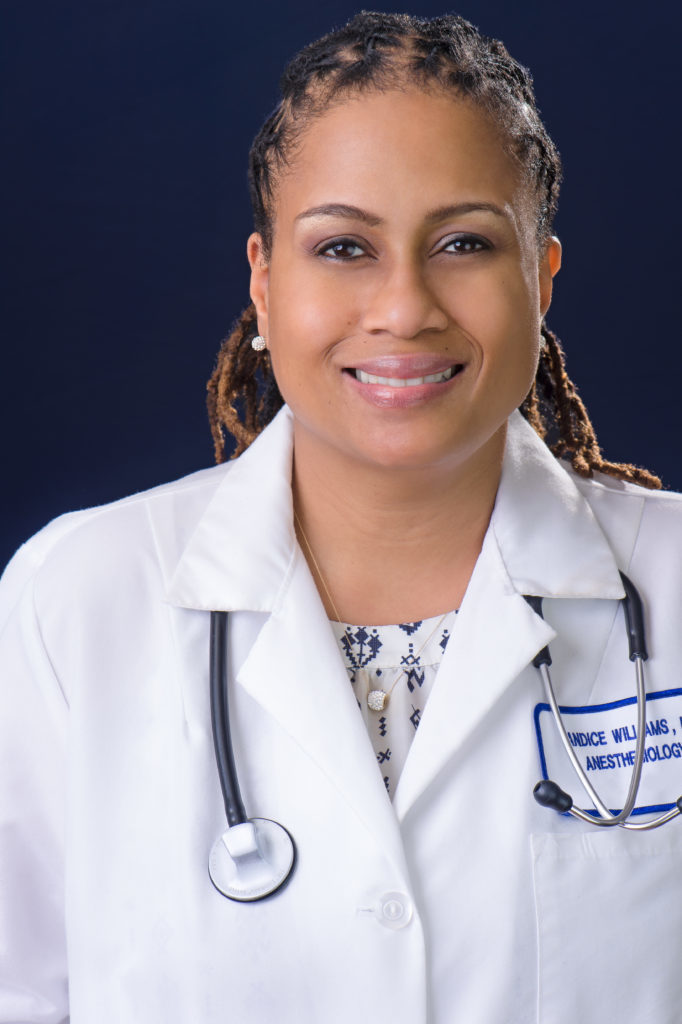 Dr. Candice Williams, Wife, Mother, Doctor, Musician, Anesthesiologist, Pain Specialist, and Premed Consultant