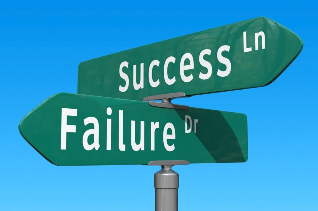 Embrace Failure without Feeling Like One